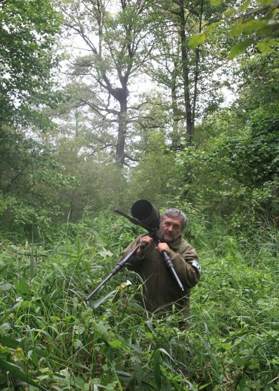 Fotografovanie Orla hrubozobého v Bielorusku, júl 2012